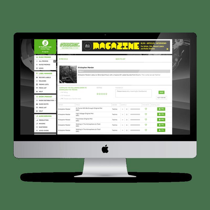 Music Promotion Tool | Promo Sending | Radio Plugging - VLM