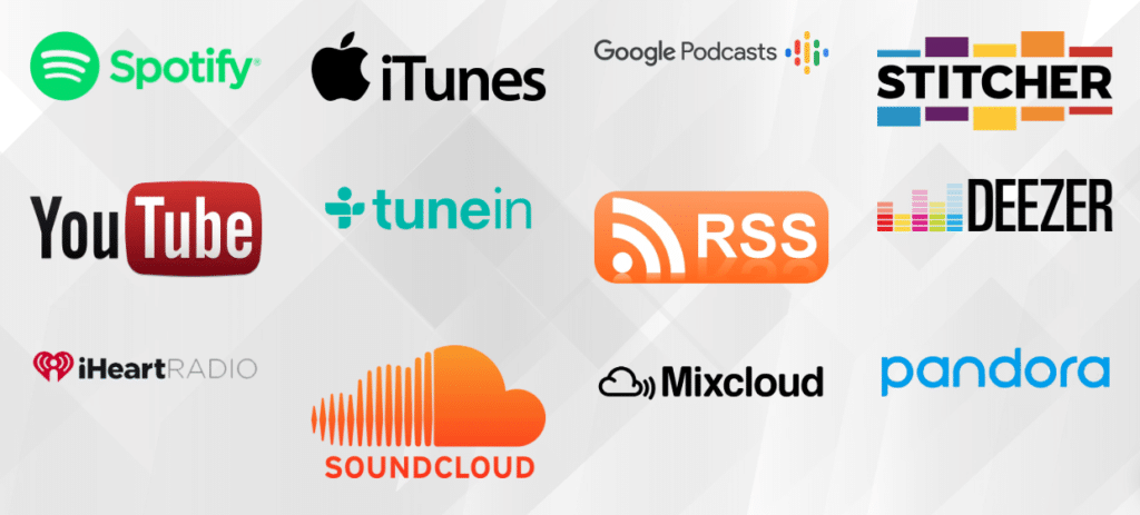 Podcast Distribution - Get your radio show or podcast heard