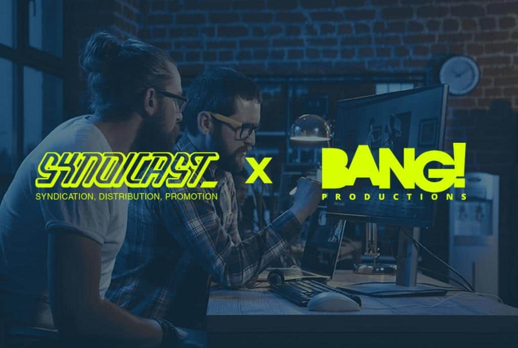 Podcast & Radio Show Visualization - Syndicast X Bang